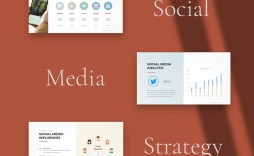000 Simple Social Media Strategy Powerpoint Template Concept  Marketing Plan Free