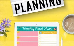 000 Simple Weekly Meal Plan Template App Highest Quality  Apple Page