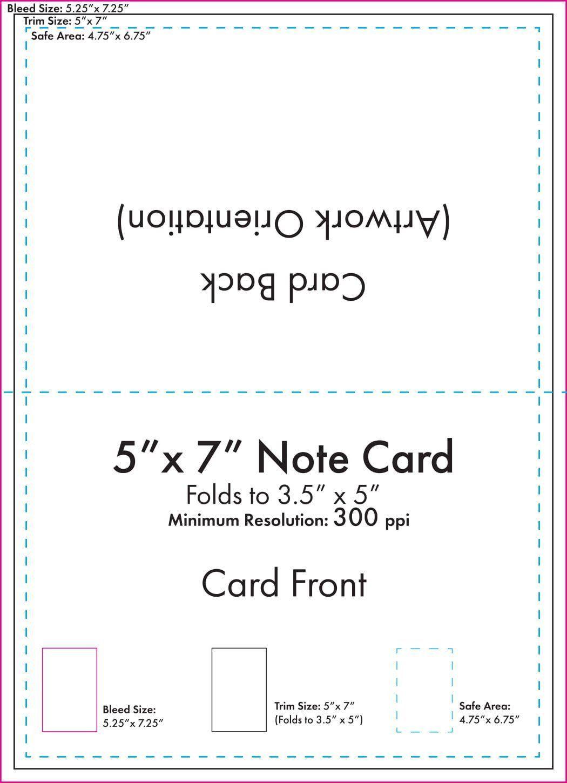 000 Singular 5 X 7 Postcard Template Microsoft Word High Resolution Full