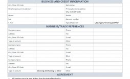 000 Singular Busines Credit Application Form Template Free Highest Clarity  South Africa Australia