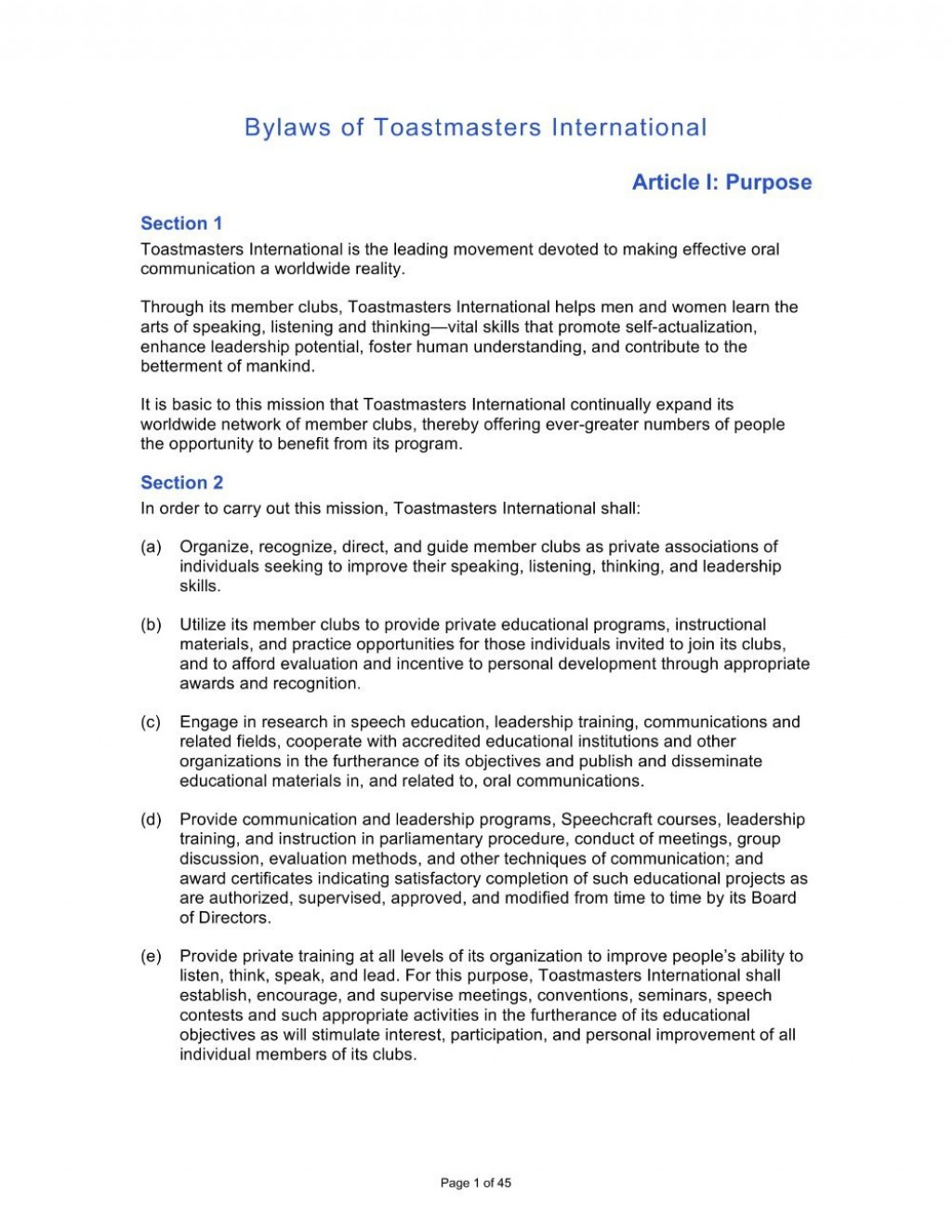 000 Singular Corporate Bylaw Template Pdf High Definition  SampleLarge