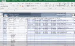 000 Singular Excel Phone List Template Software Download Design