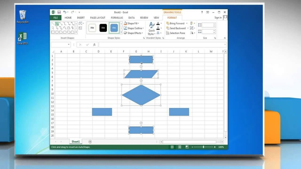 000 Singular Flow Chart Template Excel 2016 Highest Clarity Large
