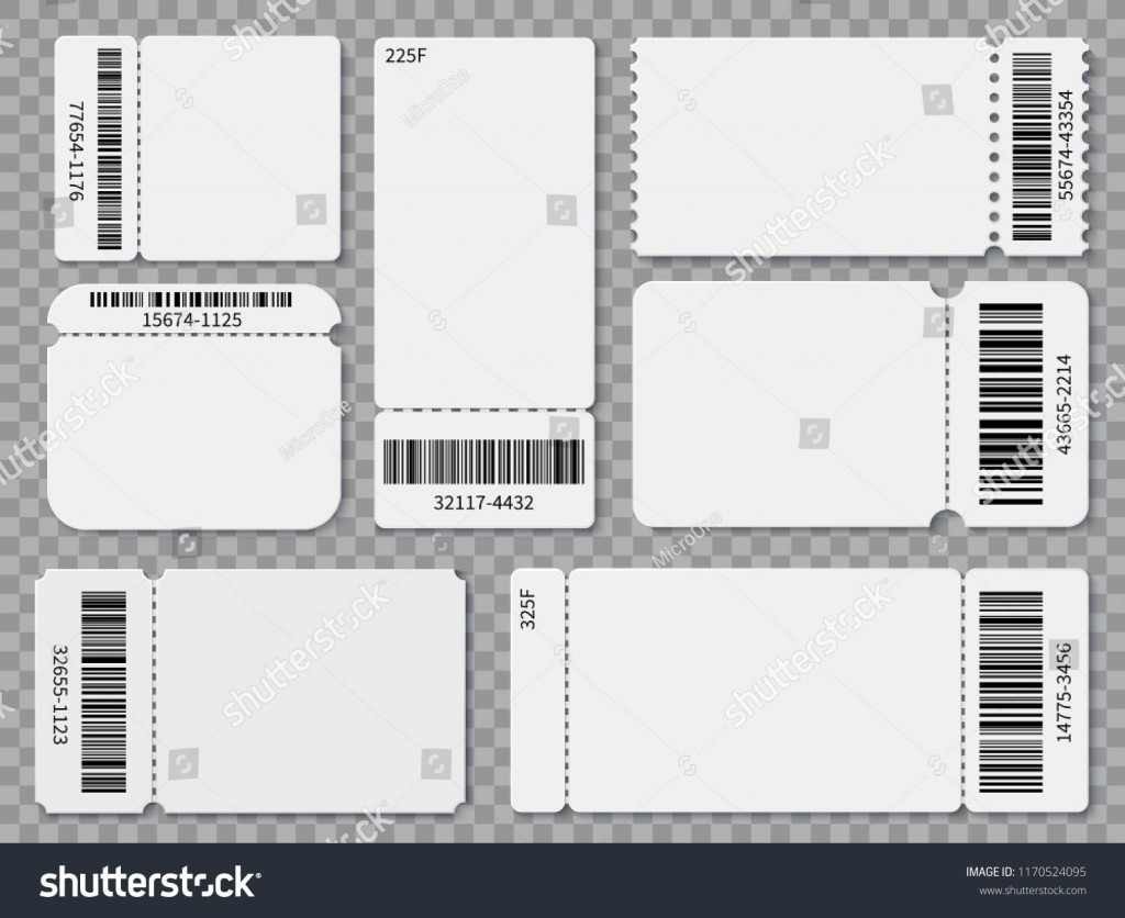 000 Singular Free Concert Ticket Printable High Resolution  Template For GiftLarge