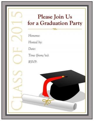 000 Singular Free Graduation Invitation Template Printable High Resolution  Kindergarten Party Card320