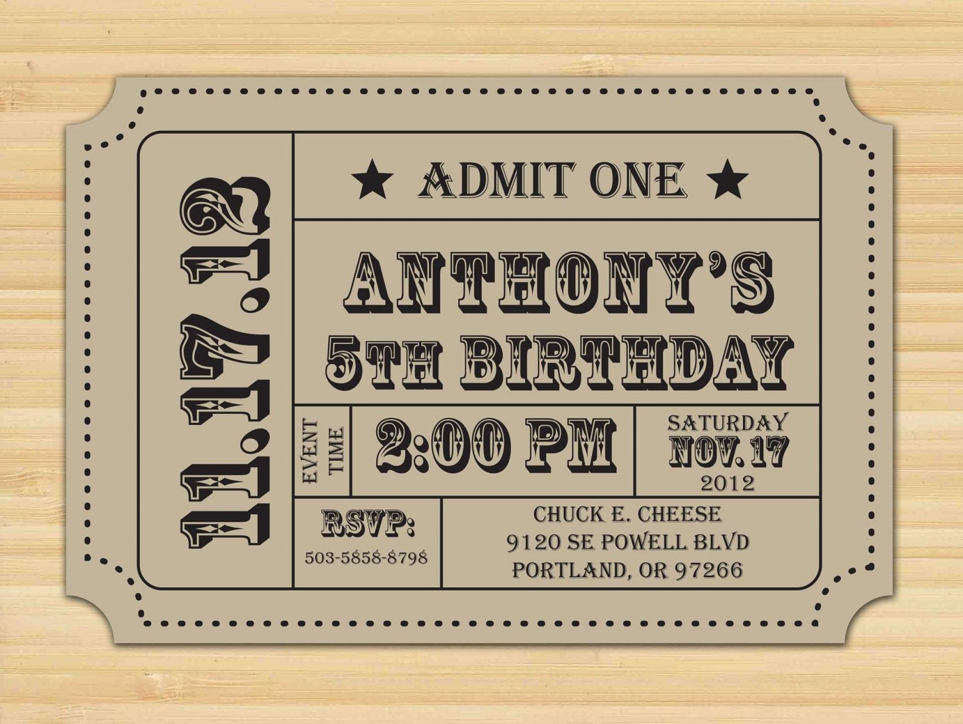 000 Singular Free Printable Ticket Stub Template Example 1920