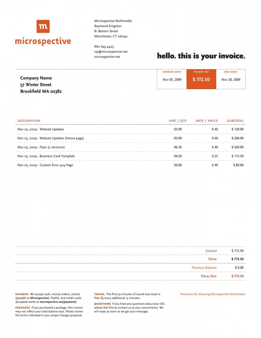 000 Singular Freelance Graphic Design Invoice Example Concept  Contract Template Sample868