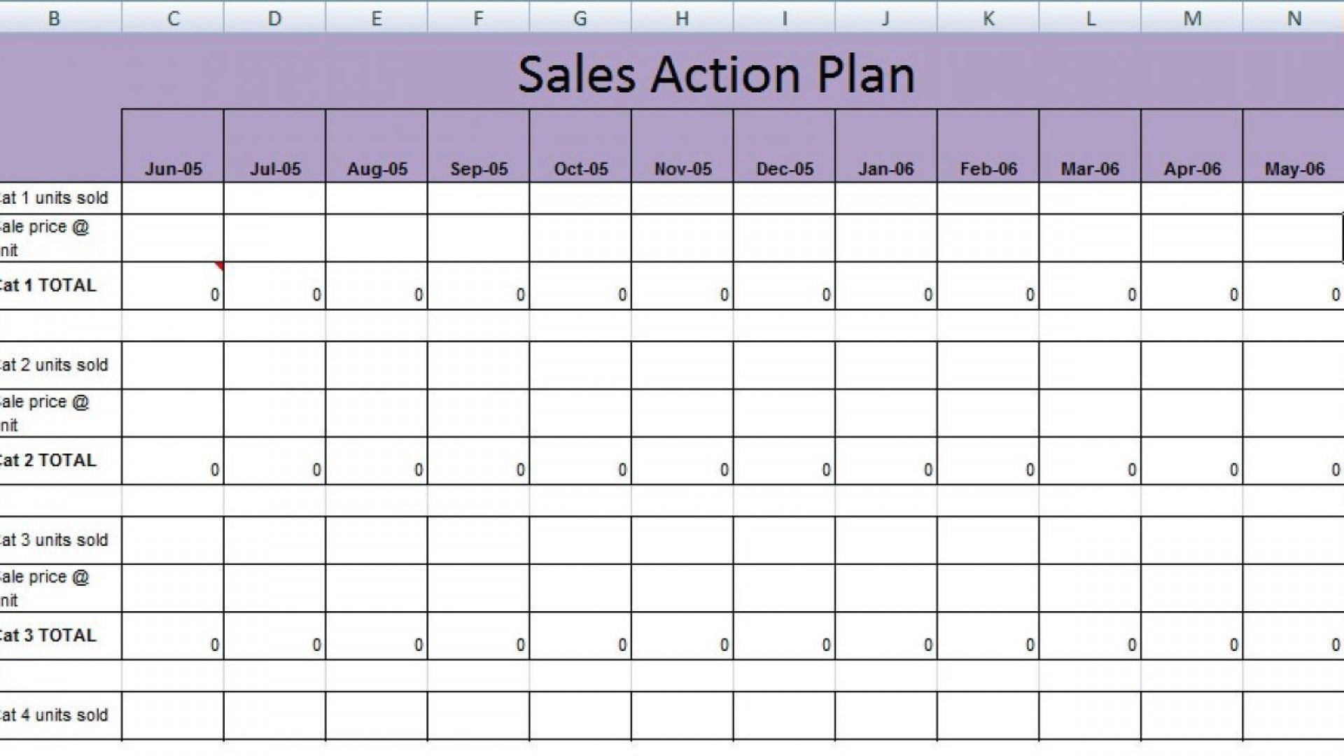 000 Singular Hotel Sale And Marketing Action Plan Template Picture Full