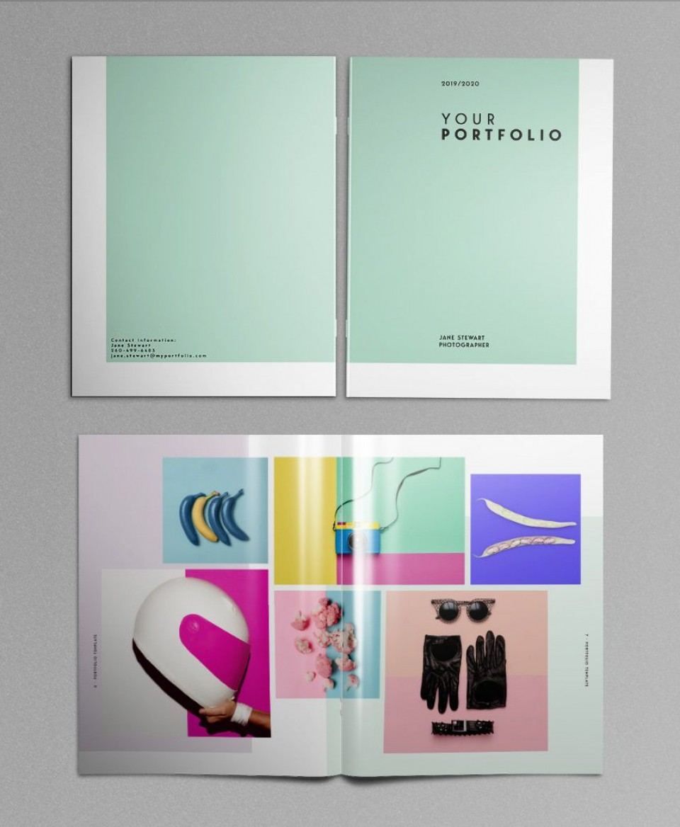 000 Singular In Design Portfolio Template High Resolution  Free Indesign A3 Photography Graphic Download960