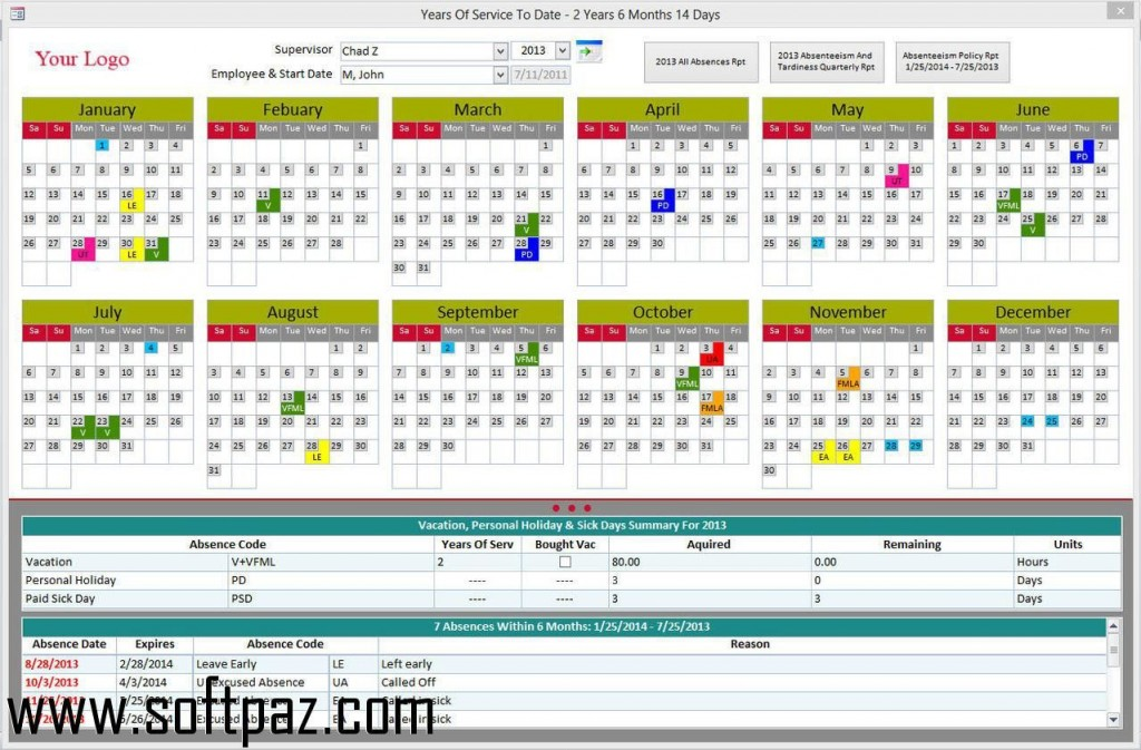 000 Singular Microsoft Acces Employee Time Card Template Example Large