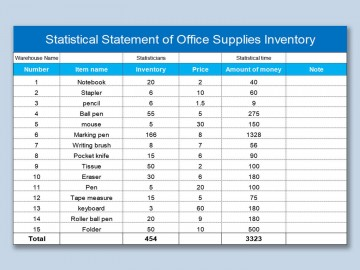 000 Singular Office Supply Inventory Template Image  List Excel Medical360