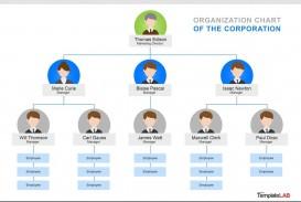 000 Singular Organizational Chart Template Word Concept  2013 2010 2007