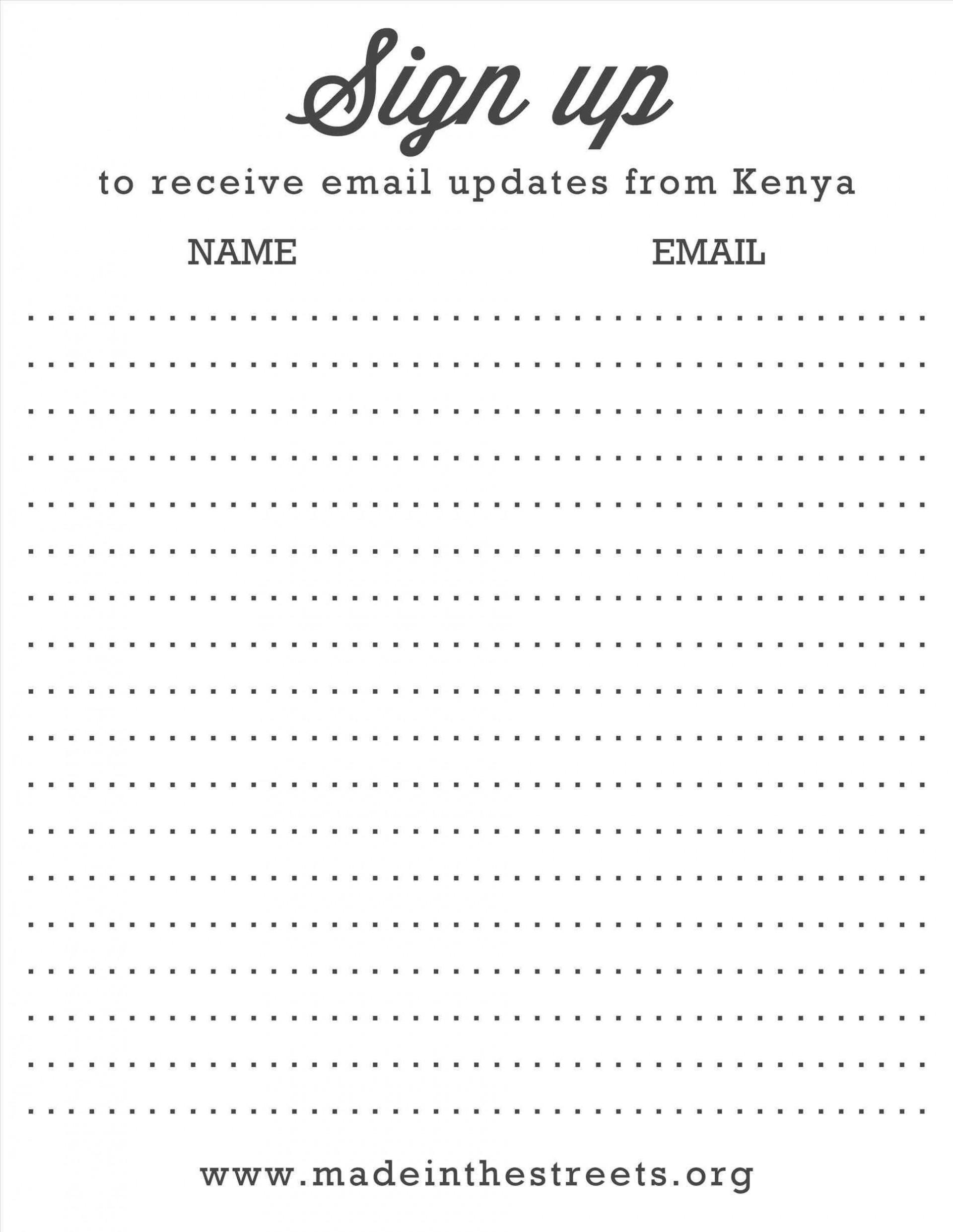 000 Singular Snack Sign Up Sheet Template Sample  Team Sport Printable1920