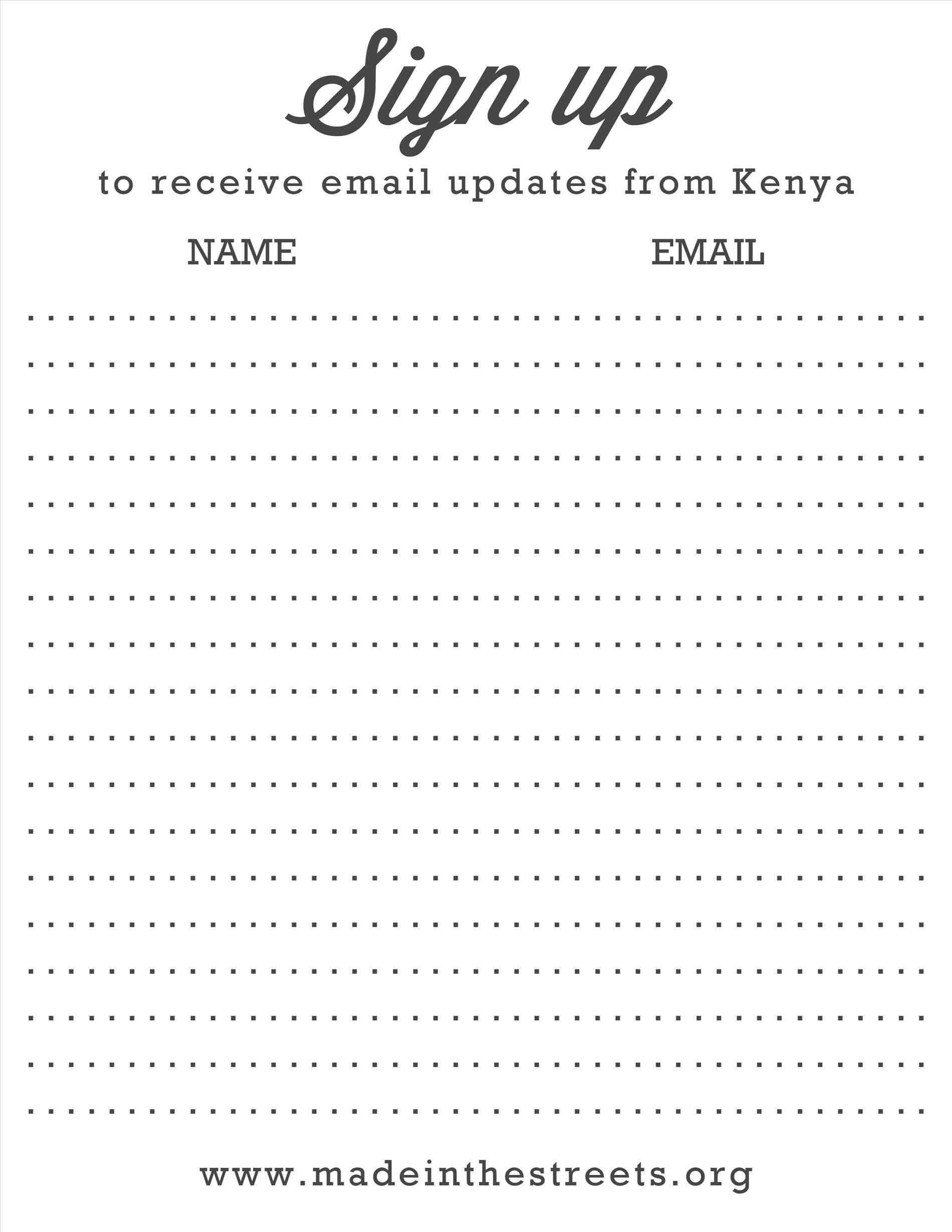 000 Singular Snack Sign Up Sheet Template Sample  Team Sport PrintableFull