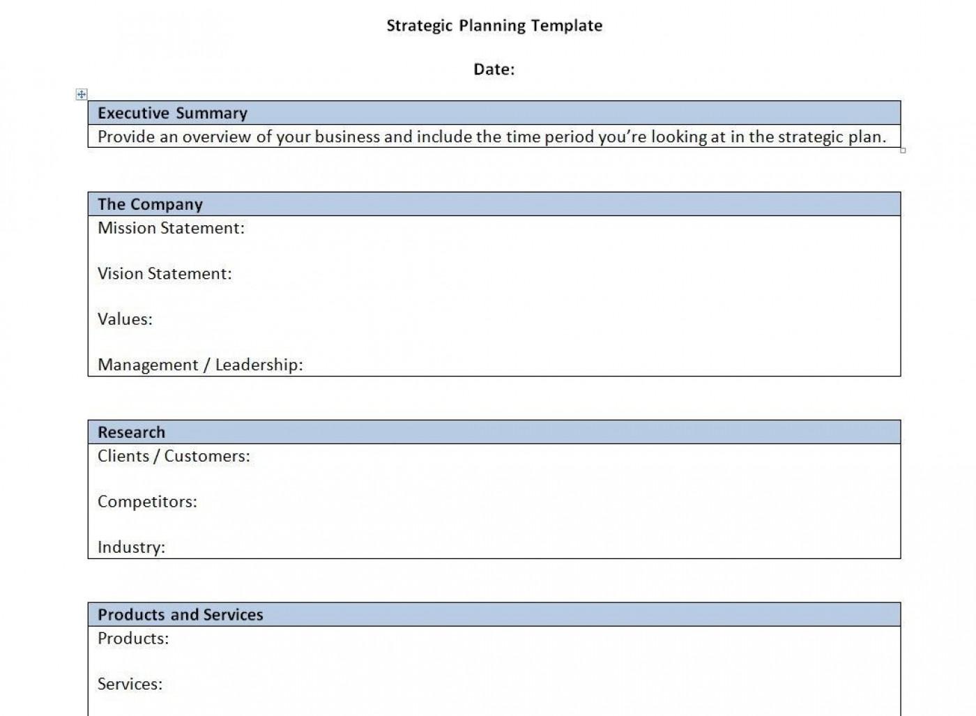 000 Singular Strategic Busines Plan Template High Resolution  Development Word Sample1400