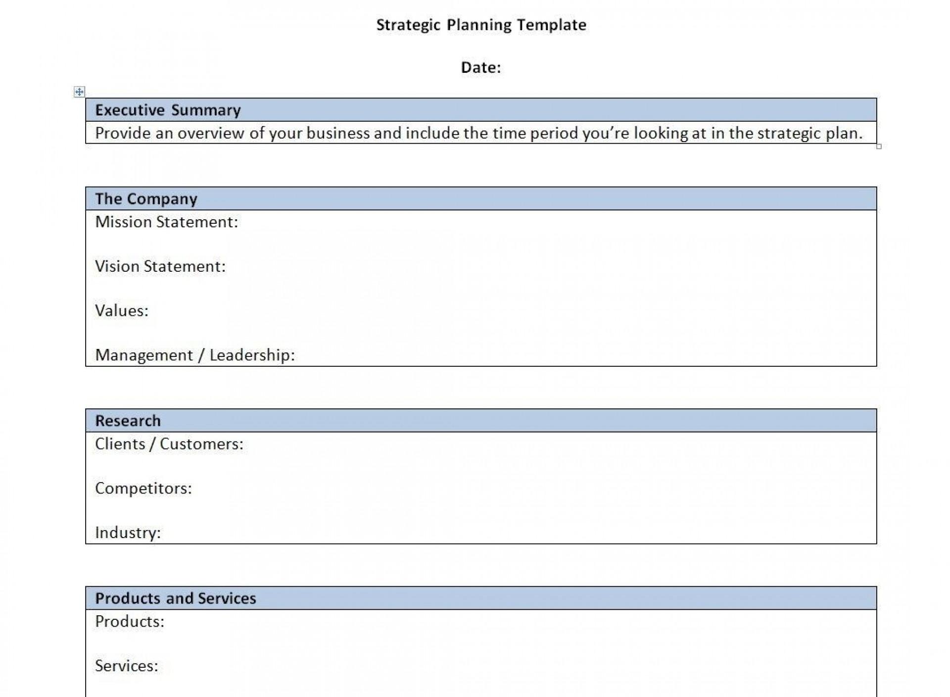 000 Singular Strategic Busines Plan Template High Resolution  Doc Word Sample1920