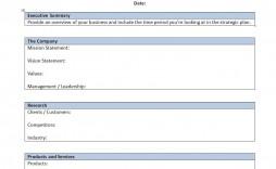 000 Singular Strategic Busines Plan Template High Resolution  Doc Word Sample