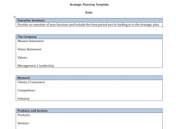 000 Singular Strategic Busines Plan Template High Resolution  Development Word Sample360