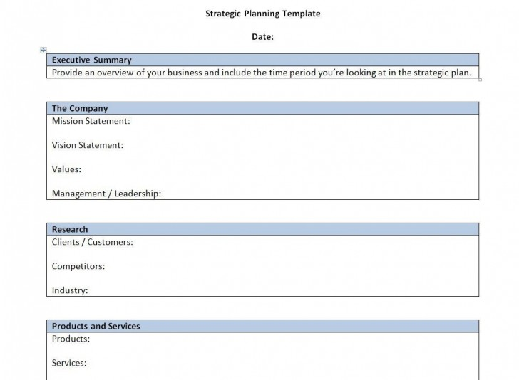 000 Singular Strategic Busines Plan Template High Resolution  Development Word Sample728