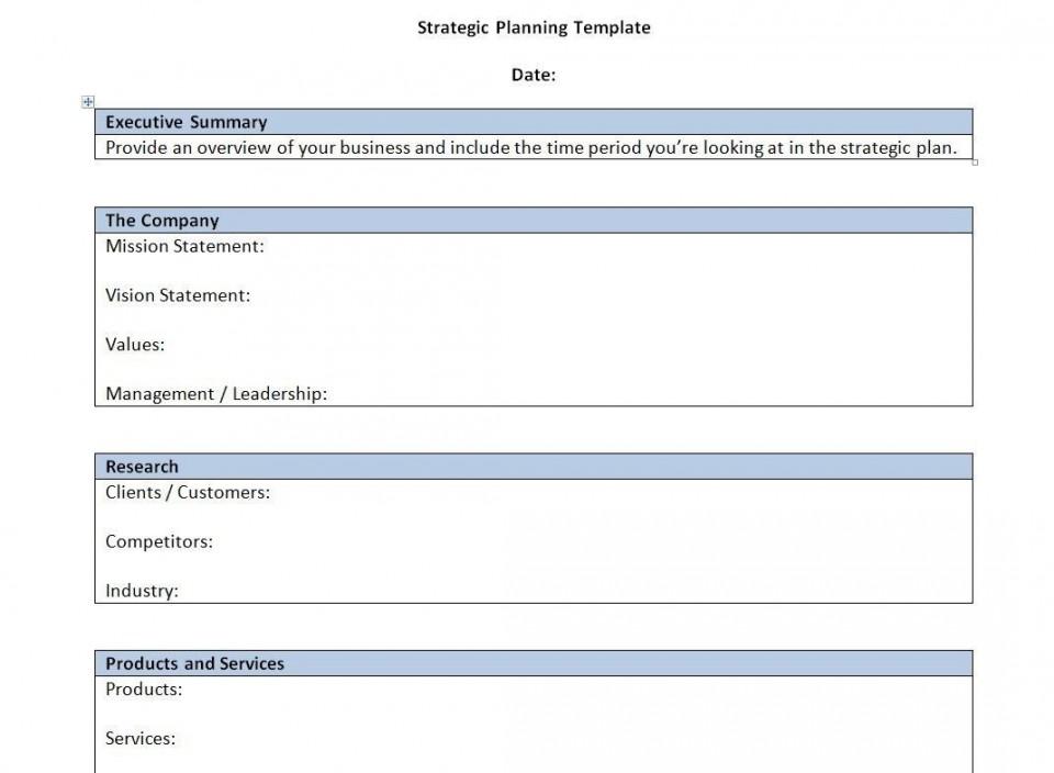 000 Singular Strategic Busines Plan Template High Resolution  Development Word Sample960