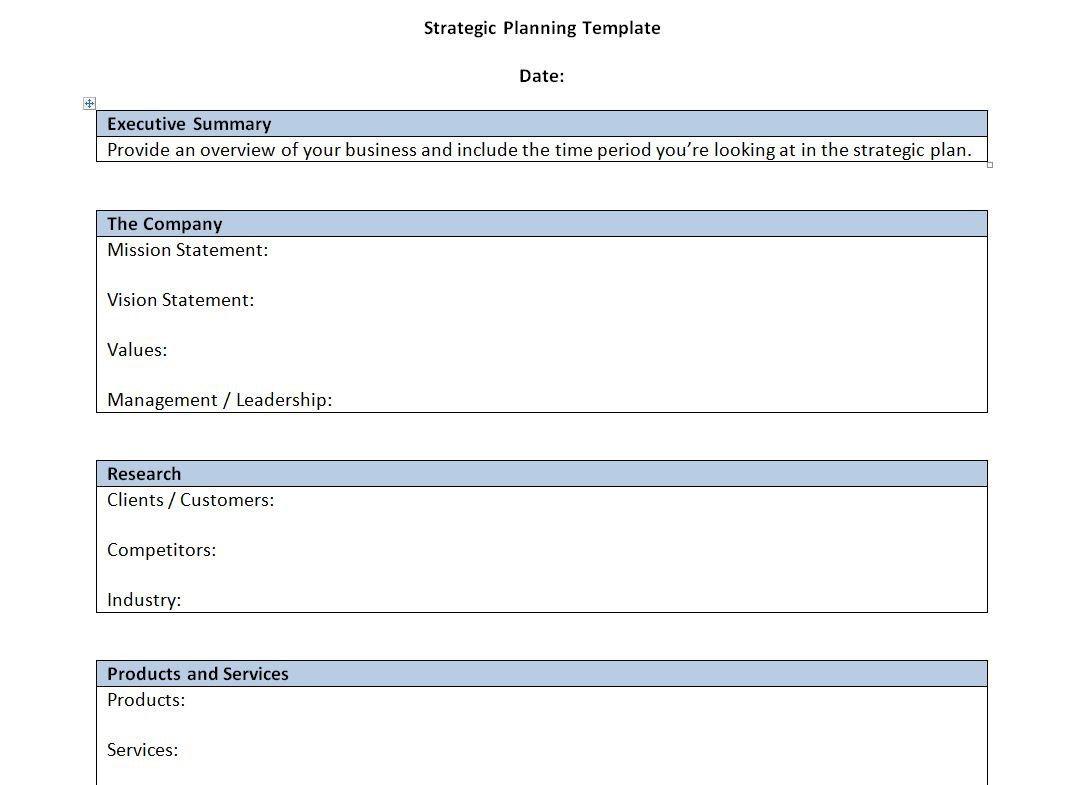 000 Singular Strategic Busines Plan Template High Resolution  Doc Word SampleFull