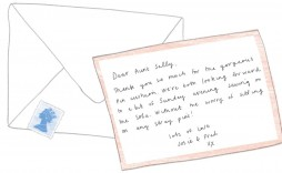 000 Singular Thank You Note Template Wedding Picture  Card Etsy Wording