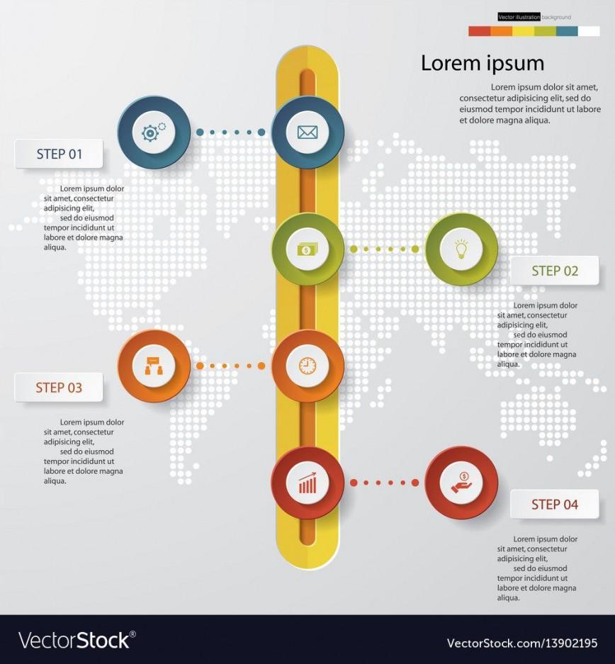 000 Singular Timeline Template For Presentation Design  Format Download