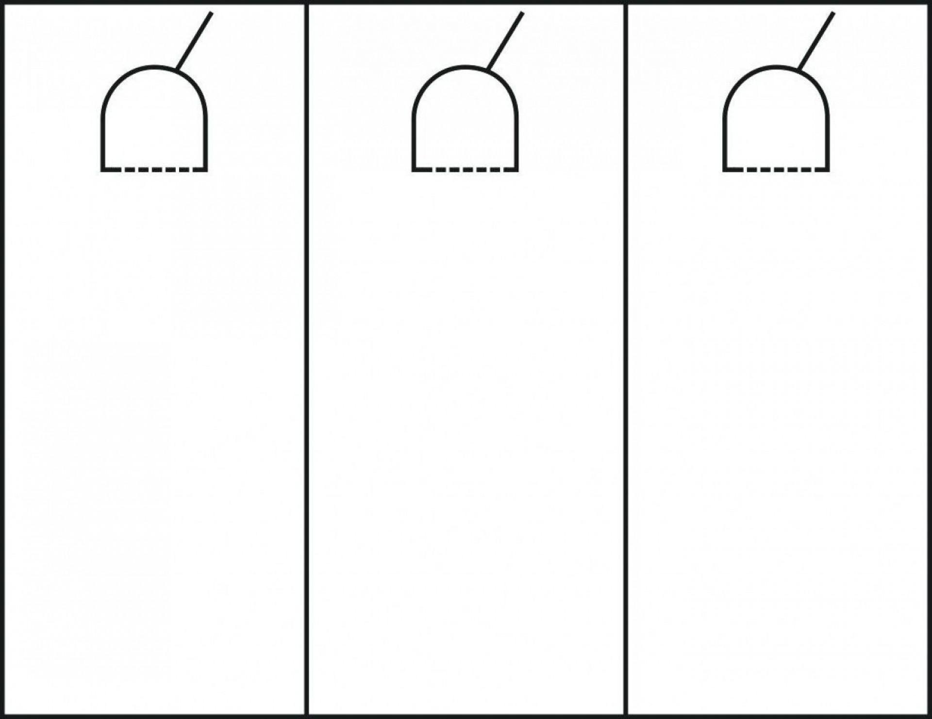 000 Staggering Blank Door Hanger Template Design  Free Printable Microsoft Word1920