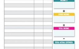 000 Staggering Blank Monthly Budget Sheet Idea  Sheets Free Printable Editable Template Personal Worksheet