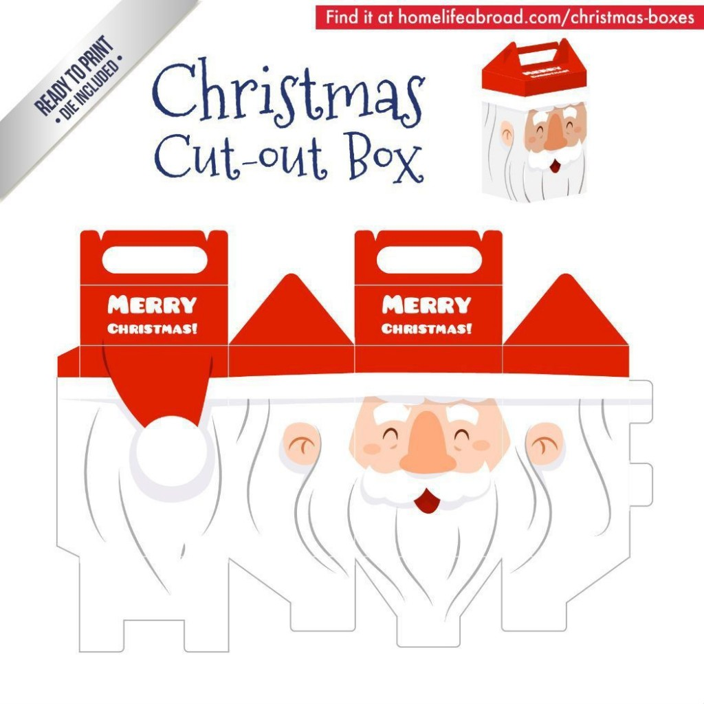 000 Staggering Christma Gift Box Template Free Printable Image  TreeLarge