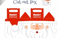 000 Staggering Christma Gift Box Template Free Printable Image  Tree