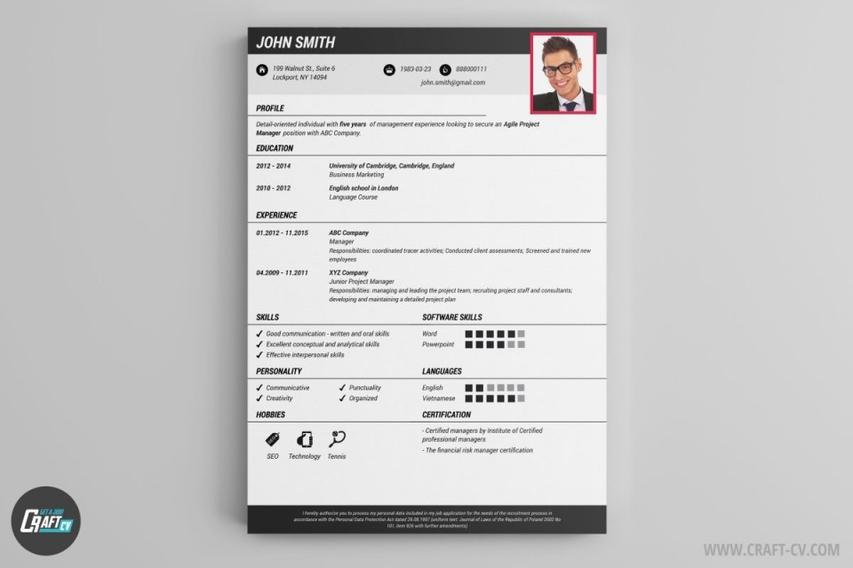 000 Staggering Create Resume Online Free Template Picture 960