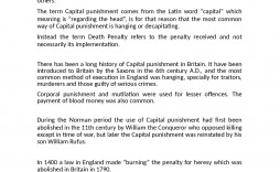 000 Staggering Death Penalty Essay Idea  Persuasive Introduction In The Philippine Tagalog Pro