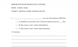 000 Staggering Doctor Note For Work Template Example  Doctor' Missing Excuse Pdf