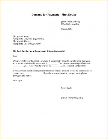 000 Staggering Final Payment Demand Letter Template Idea  For Uk360