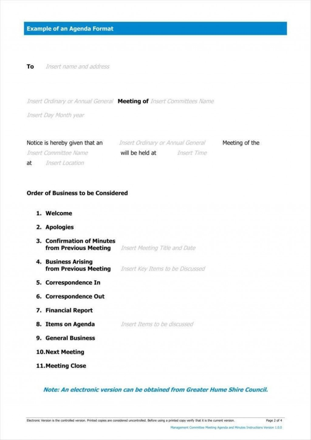000 Staggering Formal Meeting Agenda Template Doc High Definition Large