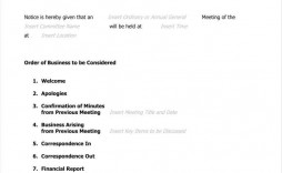 000 Staggering Formal Meeting Agenda Template Doc High Definition
