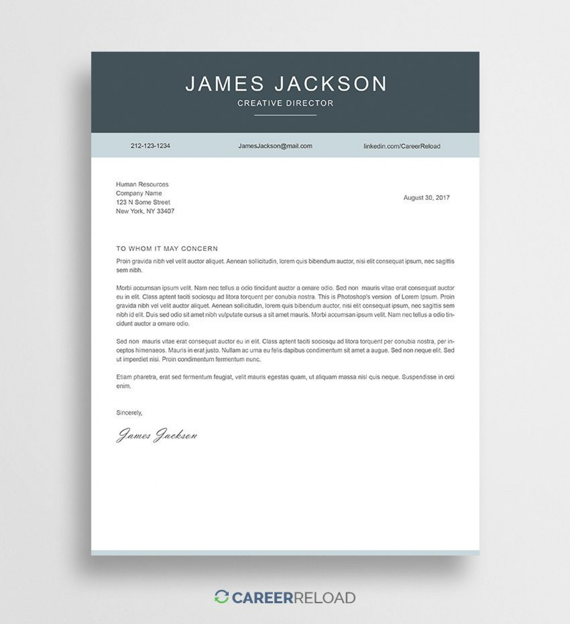 000 Staggering Free Cover Letter Template Download Sample  Word Doc Modern1920