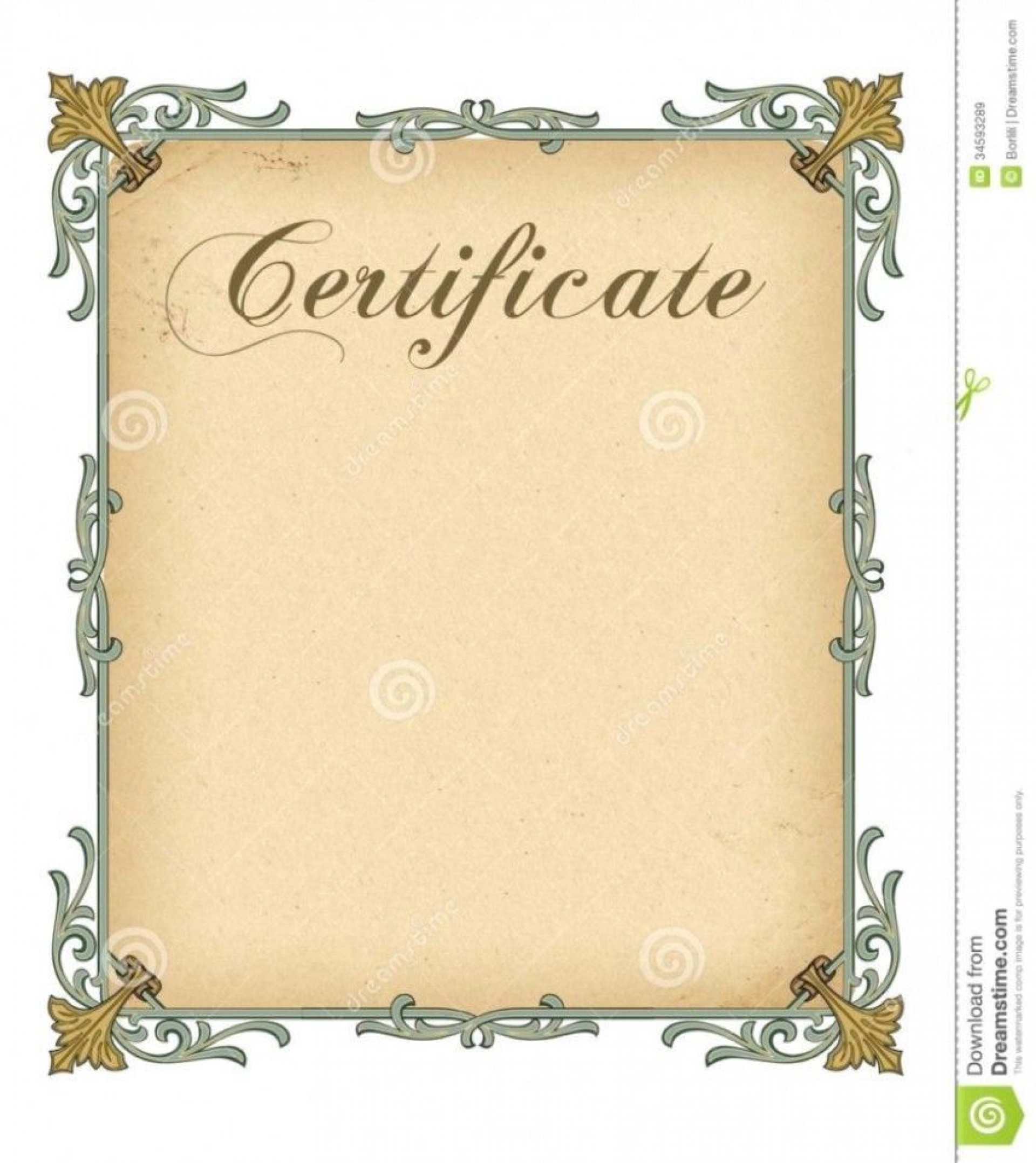 000 Staggering Free Printable Blank Certificate Template High Resolution  Templates Gift Of Achievement1920