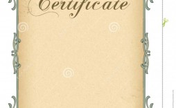 000 Staggering Free Printable Blank Certificate Template High Resolution  Templates Gift Of Achievement