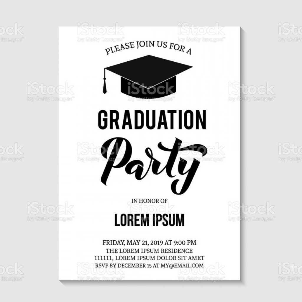 000 Staggering Graduation Party Invitation Template Inspiration  Templates 4 Per Page Free ReceptionLarge