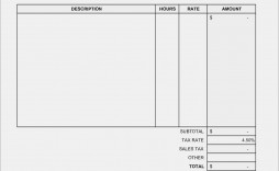 000 Staggering Hotel Invoice Template Excel Free Download Design