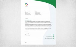 000 Staggering Letterhead Sample In Word Format Free Download Highest Quality  Design Template Psd