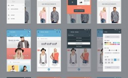 000 Staggering Mobile App Design Template Image  Templates Ui Free Online Android Psd