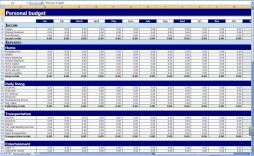 000 Staggering Monthly Budget Example Excel Highest Quality  Template Uk Spreadsheet Free