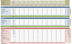 000 Staggering Monthly Budget Template Excel 2007 Highest Clarity  Personal