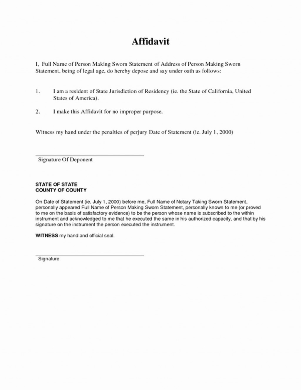 000 Staggering Proof Of Residency Letter Template Sample  Pdf From Landlord Family Member South AfricaLarge