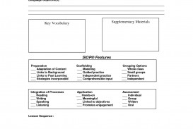 000 Staggering Siop Lesson Plan Template 1 Image  Example First Grade Word Document 1st