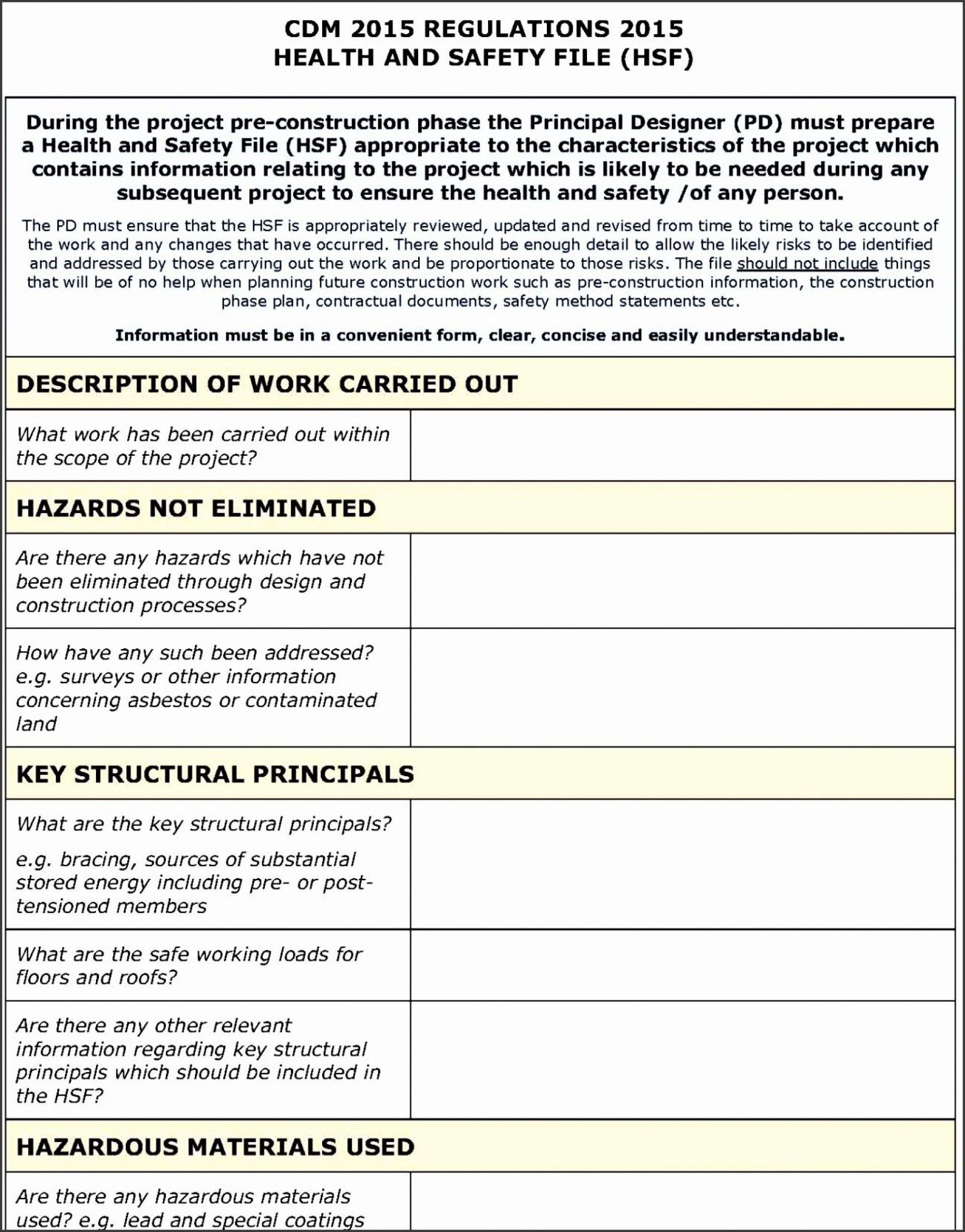000 Staggering Site Specific Safety Plan Form Image  Forms EvaluationFull