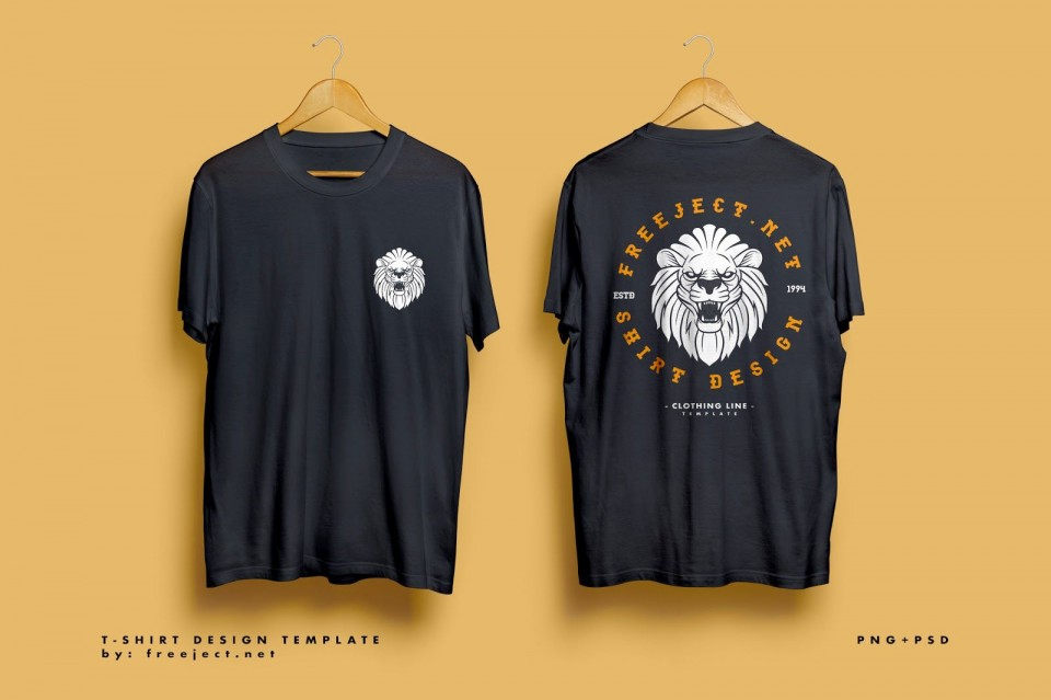000 Staggering T Shirt Design Template Psd  Blank T-shirt Free Download Layout Photoshop960